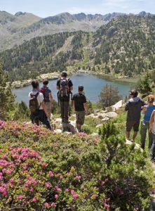 catalogo de senderismo en Andorra